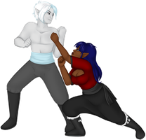 The Fight by oCrystal