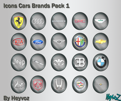 Icons Cars Brands Pack1 by Heyvoz