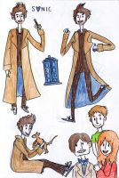 More Doctor Who by jello-bomb
