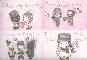 Team HAT Valentines by TakarasAsylum
