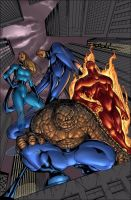 fantastic four colors by cakes