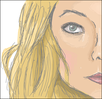 Olivia Wilde. iScribble by BroadbandBragger