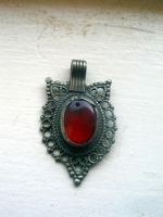 Red Pendant stock by Billy-jean-stock