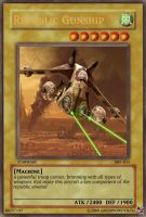 Yugioh Republic Gunship Card by Greenmonster251