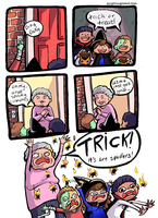 Trick or Treat by kangel