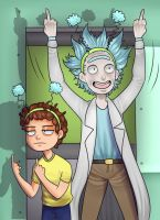 Rick and Morty: Peace Among Worlds by SatiricalKat
