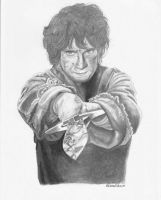 Bilbo Baggins by rebeccaholmes