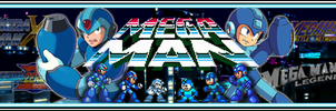 MegaMan Series Banner by MegaMac