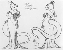 Mah Lady Meera wearing her Ballroom dress_wip by wsache007