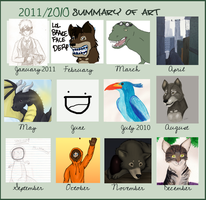 Art Summary: 2010-2011 by Radiius