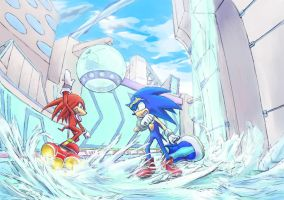 SONIC RIDERS by kisuge