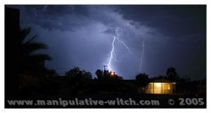 North West Arizona Lightning by Wippy