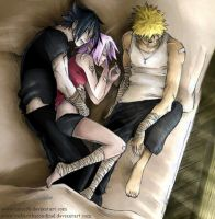 Anbu Team 7 Sleeping by Nami86 by YukariTheRondinel