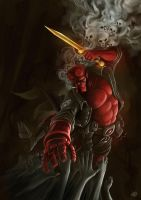 HELLBOY | Fan Art by Yulian-Ardhi