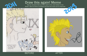 Before-After Demyx by TheWaffleNinja