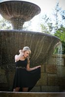 In the Fountain by HaleyHelloKitty