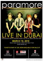 Paramore - Live in Dubai by meg-na