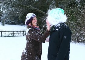 Snowball to the FACE by prtphotography