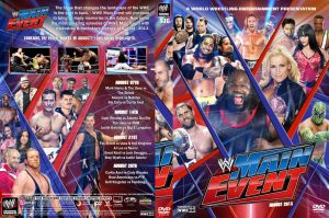 WWE Main Event August 2013 DVD Cover by Chirantha