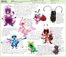 Floraverse contest: Papillians by Pand-ASS