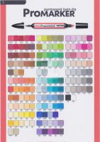 ProMarkers Colour Chart by LotzaLuv4Gaara