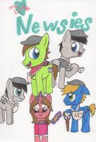 My little Newsies (Crossover) by Piplup88908