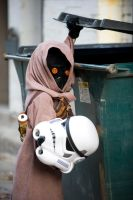 Jawas have hit hard times. by bryanhumphrey