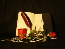 Book and rose 3 by smaragdistock