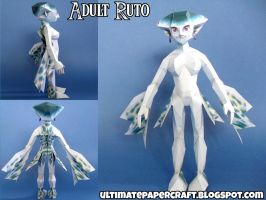 Adult Princess Ruto Papercraft by squeezycheesecake
