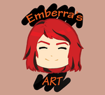 Emberra's Art Logo Design by Emberra555