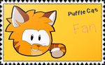 Puffle cat Fan (Stamp) by MrYamil
