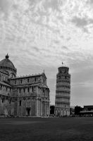 Leaning tower of Pisa, Italy by RobertM77