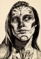 Day of the Dead by HazieAsh