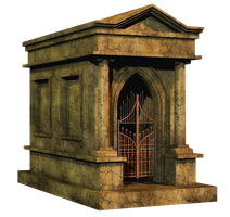 Crypt 1 PNG Stock by Roy3D