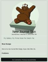 Busted Bear Skin CSS by SanchoPancho