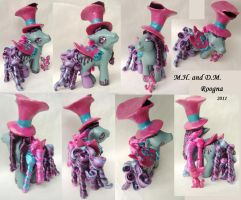 Mad Hatter and Doormouse by Roogna