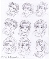 Jim Hawkins sketches by Brunamf