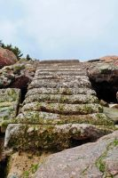 Worn steps 1 by LucieG-Stock