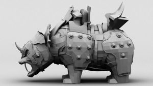 War Bear Low Res by shin-ex