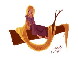 rapunzel casi final by melivillosa