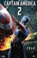 Captain America 2 movie poster by DComp