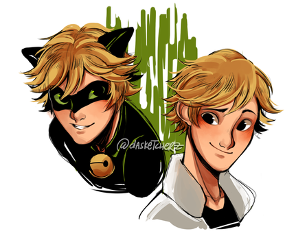 Chat Noir/Adrien Agreste by DAsKeTcHeRZ