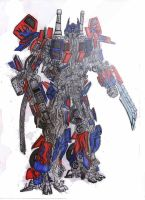 optimus prime by anikelahi