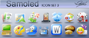 Samoled icons: Set 3 by jquest68