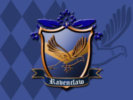 Ravenclaw House Crest by ajb3art