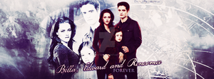 Bella, Edward and Renesmee forever by N0xentra