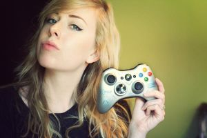 Gamer by SoraBelle