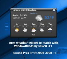 Ares Weather Widget by neophil