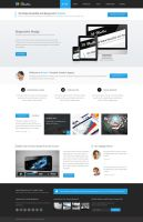 Starter - Multipurpose PSD Theme Available on Mojo by pixel-industry