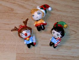 Star Trek Holiday Charms by Ayotunde